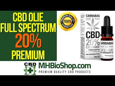 CBD Olie Full Spectrum 20% Cannabas Premium Exclusive ✔️ 20% CBD Olie Volledig Spectrum #cbdoil
