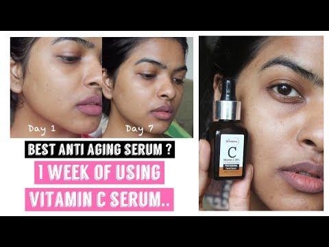 1 Week of Using Vitamin C Serum Challenge    Ft. StBotanica Vitamin C Facial Serum