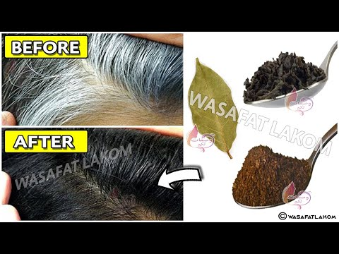 with only 3 ingredients, remove your gray hair permanently and naturally