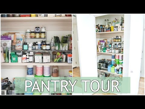 Pantry Tour | Healthy Staples and Pantry Organization