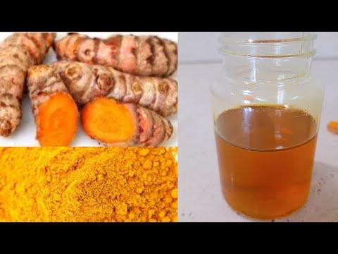 How to Make Turmeric Oil from Fresh Turmeric