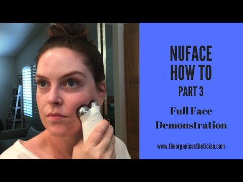 NuFace Anti-Aging How To Full Face Demonstration