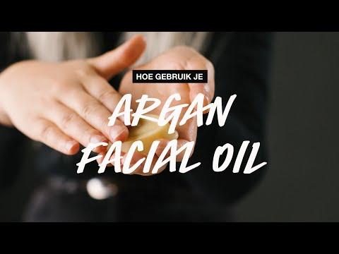 How to use: Argan facial Oil