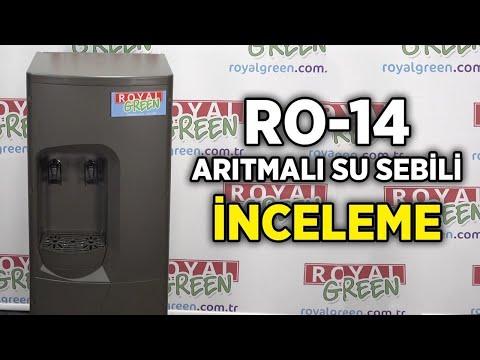 Royal Green RO-14 Arıtmalı Su Sebili | İnceleme